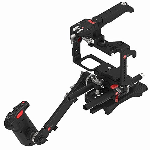 JTZ DP30 oben Handel Griff + Kamerakäfig + Schultergrundplatte Unterstützung + Handler Rig Kit für Panasonic GH3 GH4 GH5 GH5s Focus Lens Control Kit