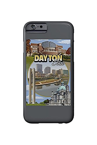Dayton, Ohio - Montage Scenes (iPhone 6 Cell Phone Case, Slim Barely There) -