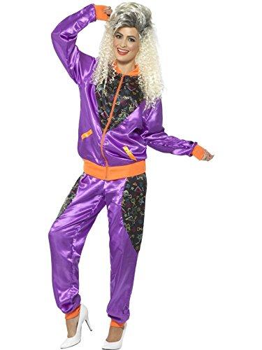 Smiffys Damen Retro Shell Kostüm, Jacke und Hose, Größe: 36-38, 43080