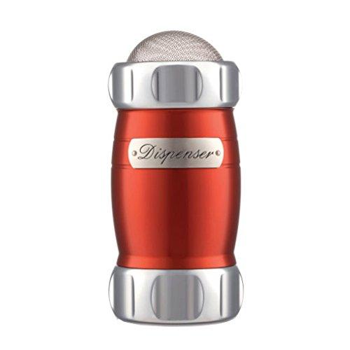 Dispenser: Spargifarine, zucchero e cacao di Marcato Design Colore Rosso