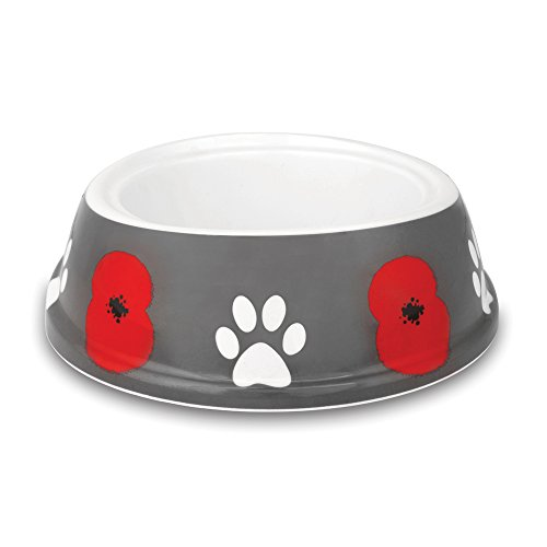 The Royal British Legion Poppy Paws Dog Bowl