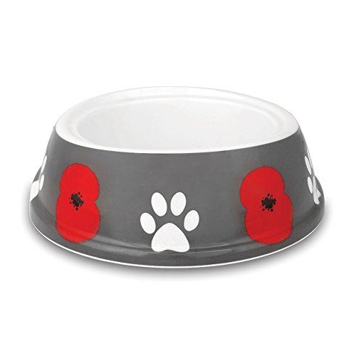 The Royal British Legion Poppy Paws Dog Bowl