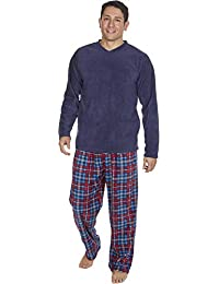 86fc692e5d MICHAEL PAUL Mens Soft   Cosy Fleece Pyjamas PJ Set Nightwear Sleepwear