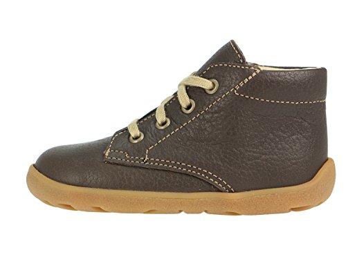 Däumling  41001-30, Chaussures de ville à lacets pour garçon Marron