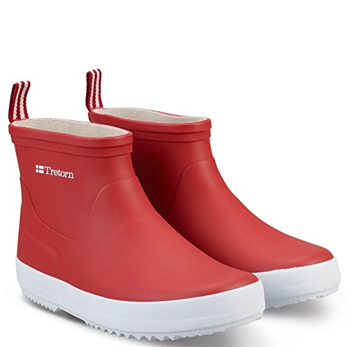 Tretorn Woman Rubberboots Wings Low Red Red