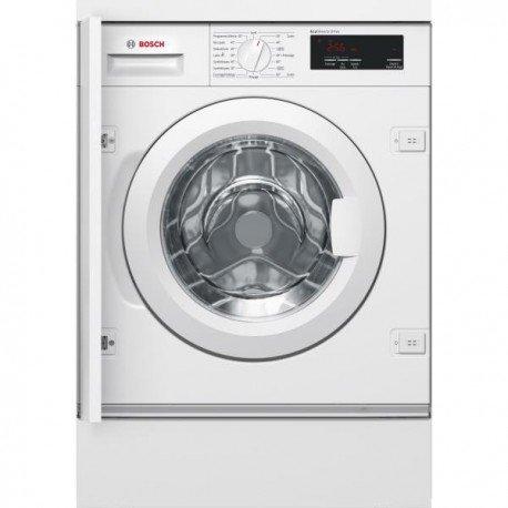 Bosch Serie 6 WIW28340FF Intégré Charge avant 7kg 1400tr/min A+++ Blanc machine à laver - Machines à laver (Intégré, Charge avant, Blanc, Rotatif, Tactil, Gauche, LED)