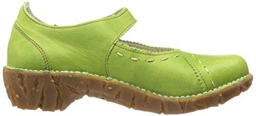 El Naturalista Yggdrasil N095 Damen Ballerinas Grün (Green)