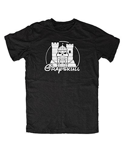 Artshirt-Factory -  T-shirt - Uomo nero M