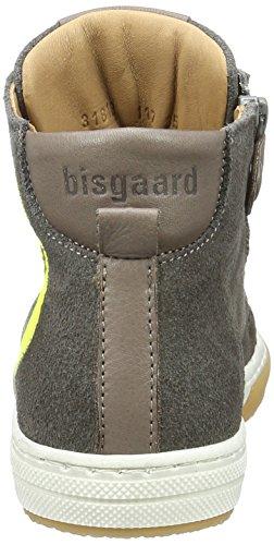 Bisgaard Unisex-Kinder Schnürschuhe High-Top Grau (403-1 Mouse)