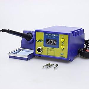 Estación de soldadura de reparación electrónica digital 60W conrol de