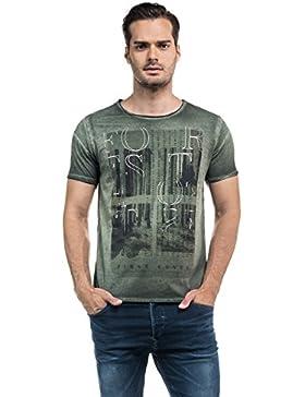 SALSA Camiseta 1st Level print frontal
