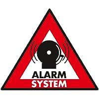 König SEC-ST-AS Lot de 5 Autocollants de système d'alarme 123 x 148 mm