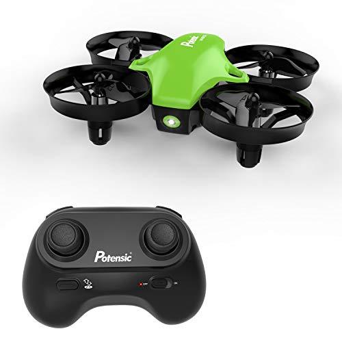 Potensic Mini Drohne Kinder und Anfänger, RC Quadrocopter mit Höhenhaltemodus, Start / Landung mit einem Knopfdruck, Kopflos Modus, Spielzeug Drohne Helikopter- Drohne Ohne Kamera