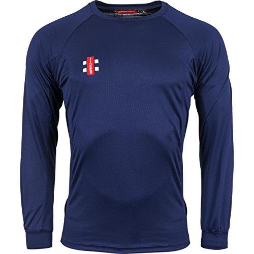 GRAY-NICOLLS Jungen Matrix Lange Ärmel T-Shirt L navy Preisvergleich