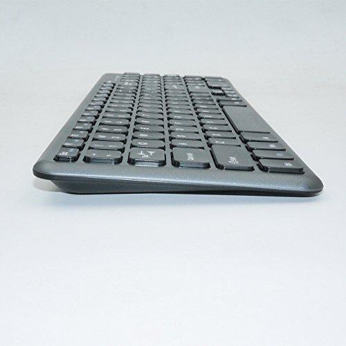 GJJ Teclado y ratón inalámbricos de Textura fácil Set Tijeras pie  inalámbrico y Teclado inalámbrico de 4d6e00f3ec5c