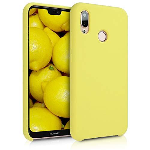 Kwmobile Funda Huawei P20 Lite - Carcasa [TPU] teléfono