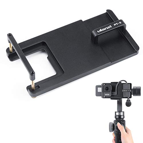 ULANZI PT-6-Mount-Adapter für GoPro Hero 7 6 5, Universal-Schalterplatte für DJI Osmo Mobile 2 Gimbal-adapter
