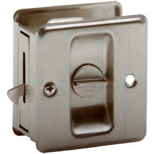Schlage Lock CO sc991b-619Schloss DR Schiebetür, Satin Nickel