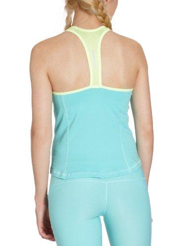 NIKE débardeur pour femme dFC soutien-gorge intégré modèle long Vert - tropical twist/white lime/matte silver
