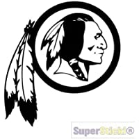 SUPERSTICKI Indian Logo Indianer ca 20cm Motorrad Aufkleber Bike Auto Racing Tuning aus Hochleistungsfolie Aufkleber Autoaufkleber Tuningaufkleber Hochleistungsfolie f/ür alle glatten Fl/äche