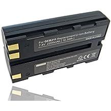 BATERÍA LI-ION 2200mAh compatible con LEICA sustituye GBE211, 733270, GEB90, 724117, 733270