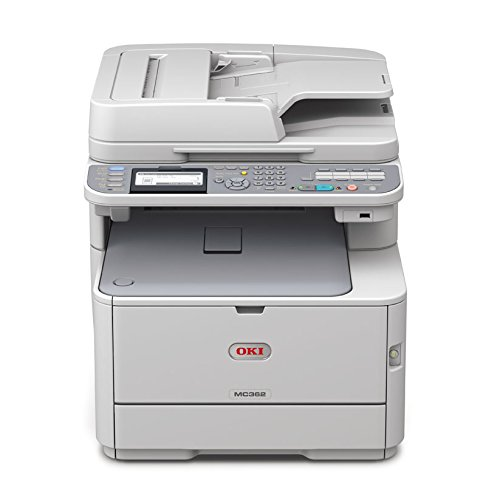 Oki Color Drucker (OKI MC362dn A4-Farb-4-in-1-Multifunktionsdrucker (RADF, Duplex, Netzwerk))