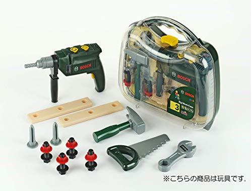 Theo Klein 8416 – Bosch Werkzeugkoffer, groß, transparent, Spielzeug - 3