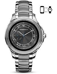 Emporio Armani Herren-Armbanduhr One Size, silber