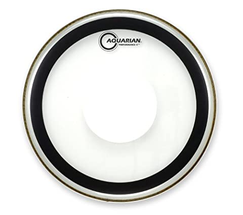 Aquarian-Studio X 22 cm-Bass transparent avec Power Dot