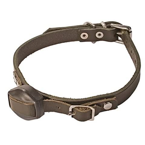 Deben Terrier Finder Replacement Black Leather Collar FE3515