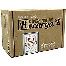 Recarga de materias primas para elaborar cerveza en casa. Receta Tripel Blonde Ale Alc.