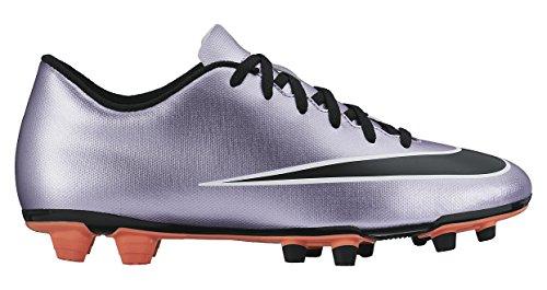 Nike - Mercurial Vortex II FG, Scarpe Da Calcio da Uomo Porpora / Nero / Giallo / Bianco (Urbn Lilac / Blk-Brght Mng-White)