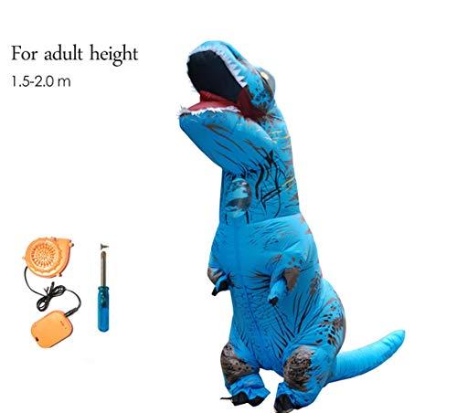 Dinosaurier Aufblasbare World Kostüm Jurassic - About Beauty Aufblasbare Dinosaurier T Rex Kostüm Jurassic World Park Blowup Dinosaurier Cosplay Aufblasbare Kostüm Party-Kostüm Für Erwachsene Kinder,Adult