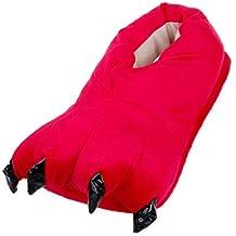 DSstyles Monster Claw Inicio Zapatos Zapatillas Novedad Zapatillas Hombre para Invierno Zapatillas Indoor Mujer con Animales Paw - Rosa jvenM