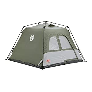 41kesFMMDcL. SS300  - Coleman Water Repellent Instant Tourer Outdoor Pop-up Tent available in Green - 4 Persons