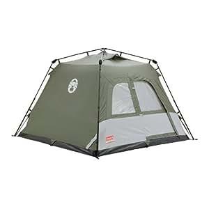 Coleman Water Repellent Instant Tourer Unisex Outdoor Pop-up Tent available in Green - 4  sc 1 st  Amazon UK & Coleman Water Repellent Instant Tourer Unisex Outdoor Pop-up Tent ...