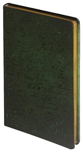 D1021-2 Kalpa Dreamnotes Planner Notebook Manuscript 21X 13cm - Grün (Leder Mitte Grün)