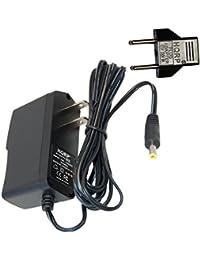 HQRP Cargador adaptador de CA para Omron HEM-7202 y (V)-/ -/7117 7202 HEM-E8 (V)/7117 de medida de la…