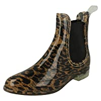 Spot On Womens/Ladies Gusset Ankle Wellies
