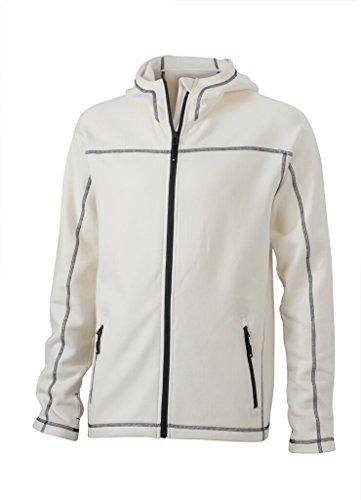 JAMES & NICHOLSON Bi-elastische Jacke in körperbetontem Schnitt off-white/carbon