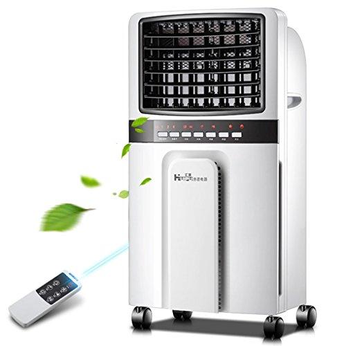 WW Schreibtischventilatoren Klimaanlage Ventilator warm und kalt Wasser mit zwei Kühlern Ventilator Haushaltskälte Wasser Stummschaltung Kühler Kleine Klimaanlage