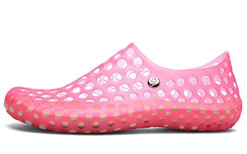 clapzovr , Damen Aqua Schuhe Rose