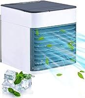 Homitt Mini Raffreddatore D'aria,Personale Condizionatori Raffrescatore Evaporativoa 3 Velocità, Serbatoio D'acqua Senza...