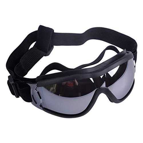 Stilvolles und Fun Tier/Hundewelpen UV-Schutzbrillen Sonnenbrille Wasserdichten Schutz Sun-Brille Fuer Hunde (Tier-schutzbrillen)