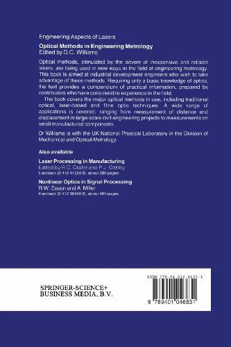 Optical Methods in Engineering Metrology (Engineering Aspects of Lasers Series)