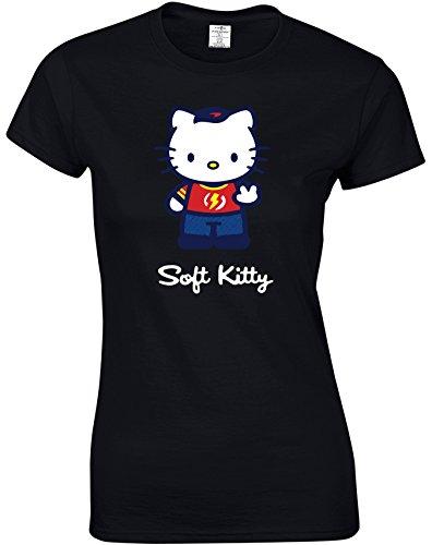 Eat Sleep Shop Repeat -  T-shirt - Donna Nero