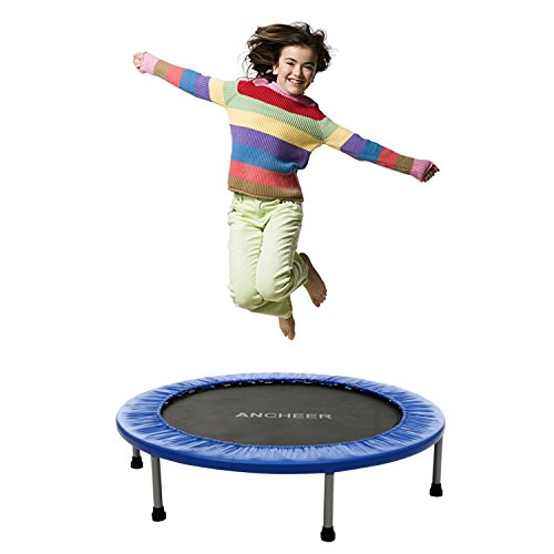 cooshional-Trampolin-Faltbar-Gartentrampolin-Kinder-Jumper-Sport-Fitness-Gymnastic-Outdoor-Indoor-Garten-Haus-Spa