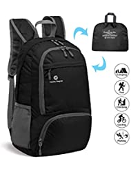 Comfy Degree - Packable Ultralight Hiking Backpack, Foldable Lightweight Multi-functional Casual Camping Trekking Rucksack Cycling Travel Climbing Mountaineer Outdoor Sport Daypack Bag