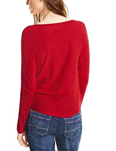 Street One Damen Pullover Rot (Big Red 10979)