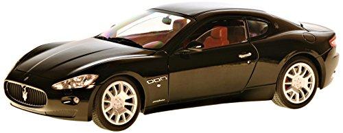 Maserati Gran Turismo, schwarz, Modellauto, Fertigmodell, Mondo Motors 1:18 (Auto Maserati)